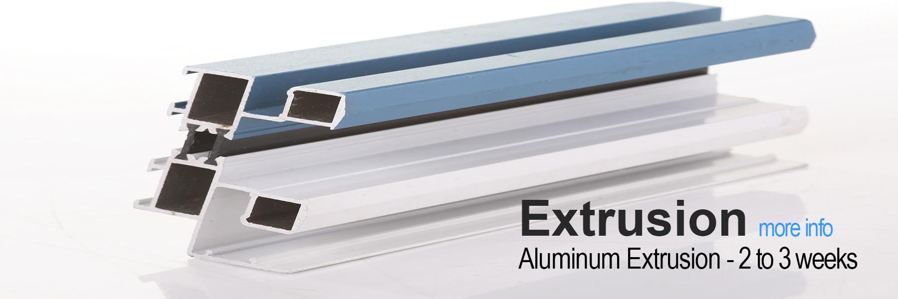 Rapid Prototype Extrusion - Aluminum
